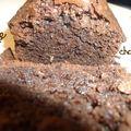 Cake au chocolat qui croustille