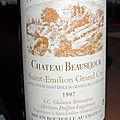 Chateau beauséjour (duffau-lagarrosse) 1997 saint-émilion 1er grand cru classé b