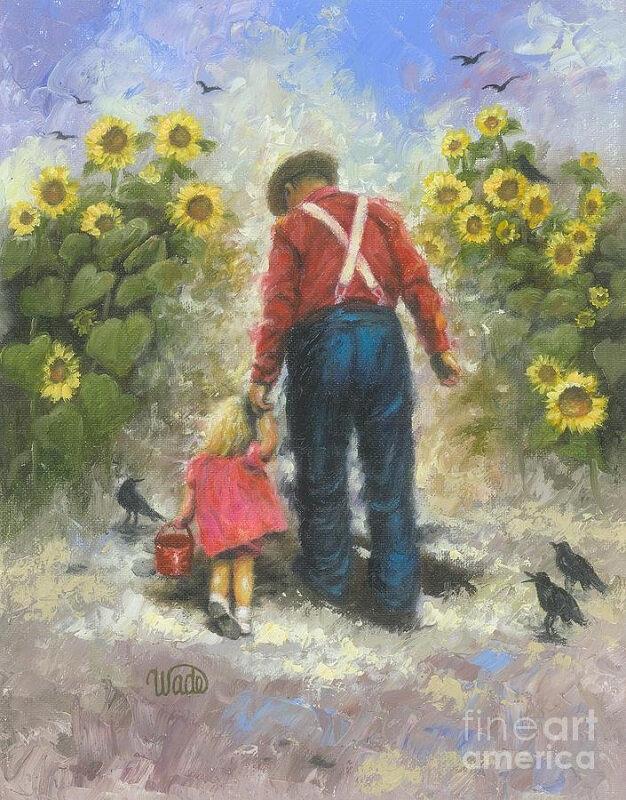 vickie-wade sunflower-walk-with-grandpa-