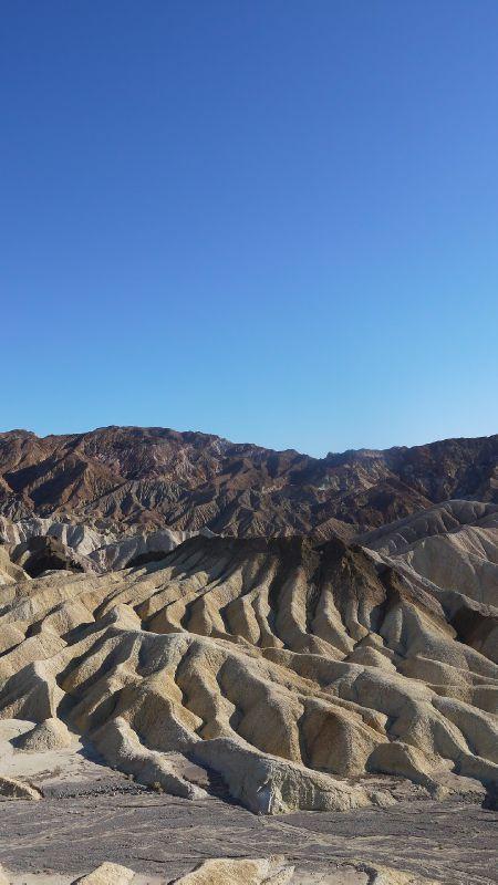 Death Valley; Californie, Zabriskie Point