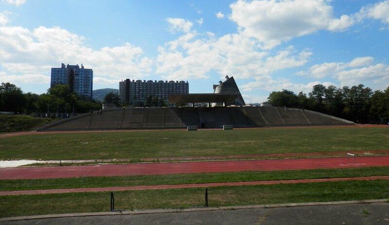 Le Corbusier Stade de Firminy