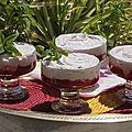 Mousse aux fraises au chocolat blanc