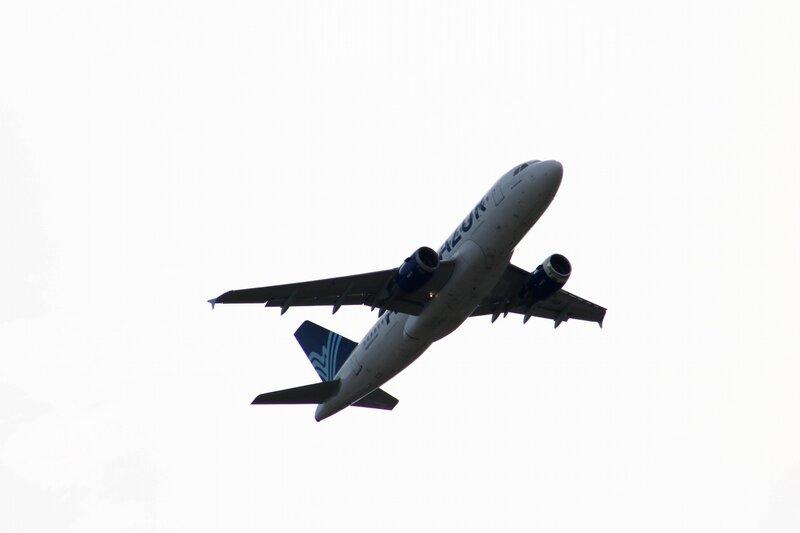 Airbus A319 d'Aigle Azur