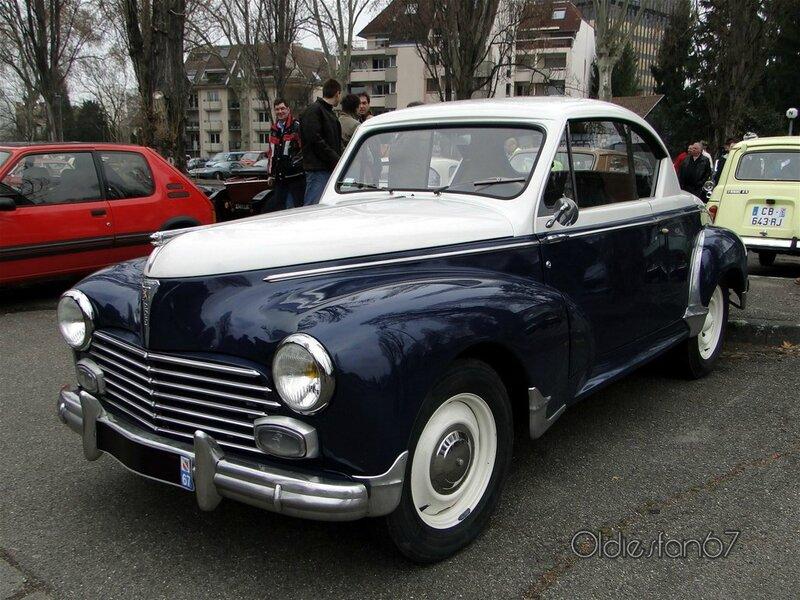 peugeot 203 coupe de 1953 a