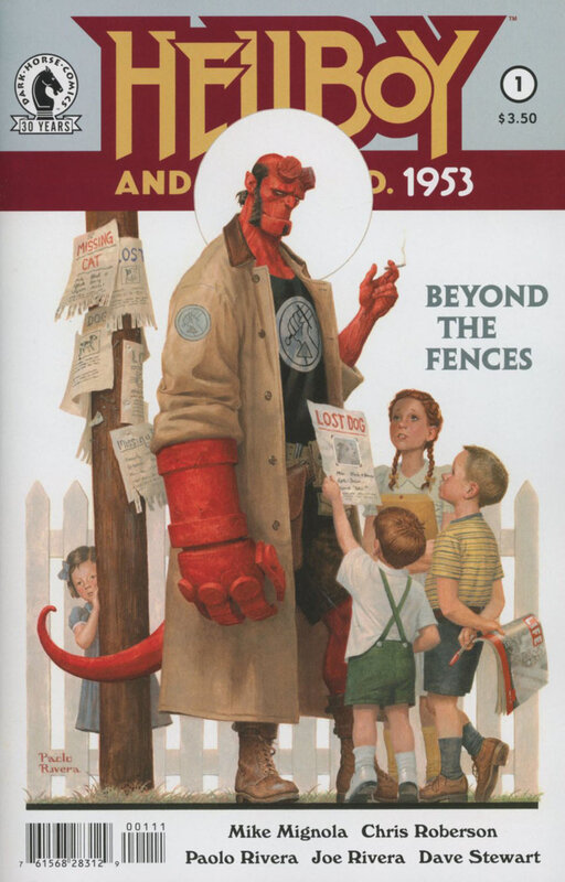 dark horse hellboy and the BPRD 1953 beyond the fences 01