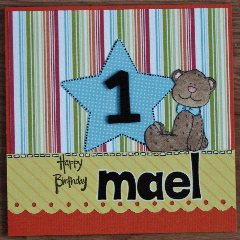 Joyeux Anniversaire Mael Val Et Son Scrap