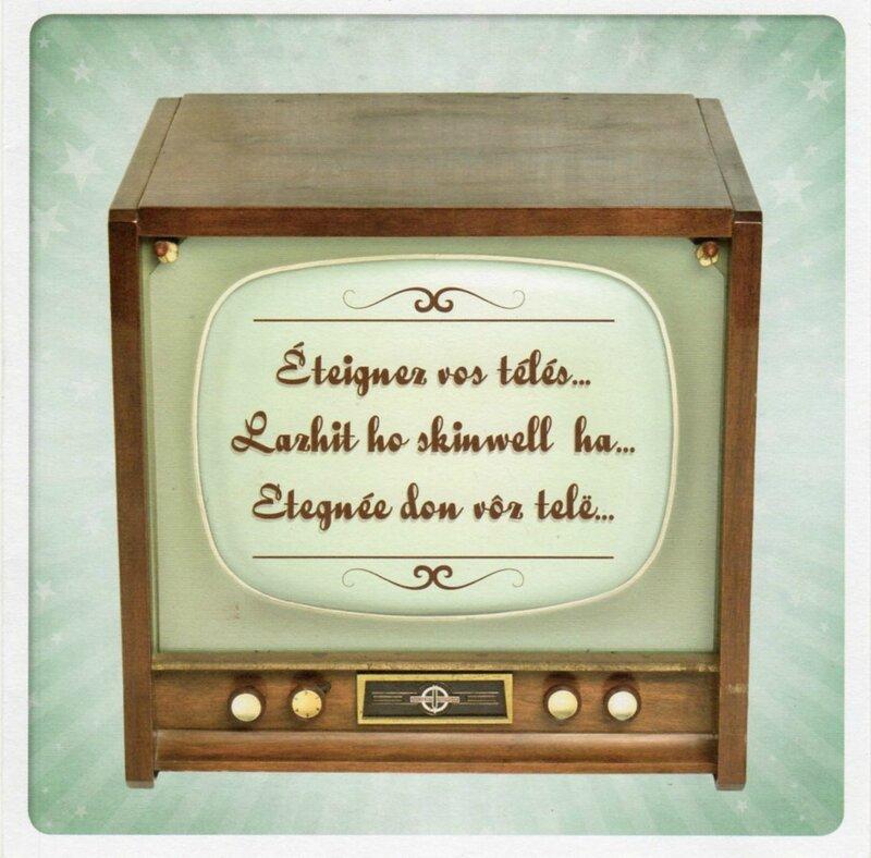 La télé par Musée de Bretagne 1