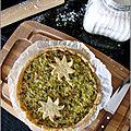 Tarte poireaux/thon/philadelphia au curry