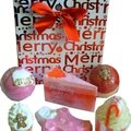 Box de bain bomb cosmetics merry christmas