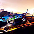 China eastern airlines lance son avion toy story
