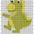 Bébé dragon vert copie