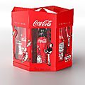 Monoprix : coca cola + my little paris et son illustratrice kanako ❤️