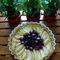 Tarte aux fruits rouges cuite 1