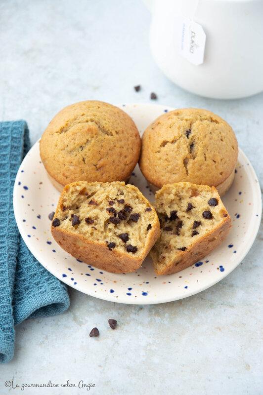 muffins pepties choco avoine sans sucre raffiné