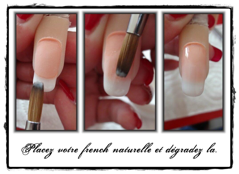 Pose résine mains avec vernis classique | French Nail