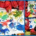 La peinture, on adore!!!!