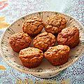 Muffin monday#36 - muffin miel, pommes et épices douces