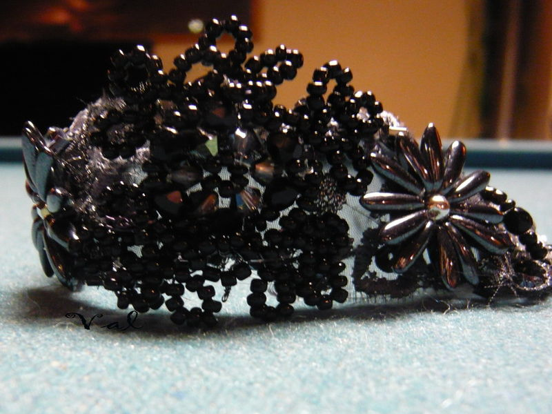 Bracelet dentelle de perle
