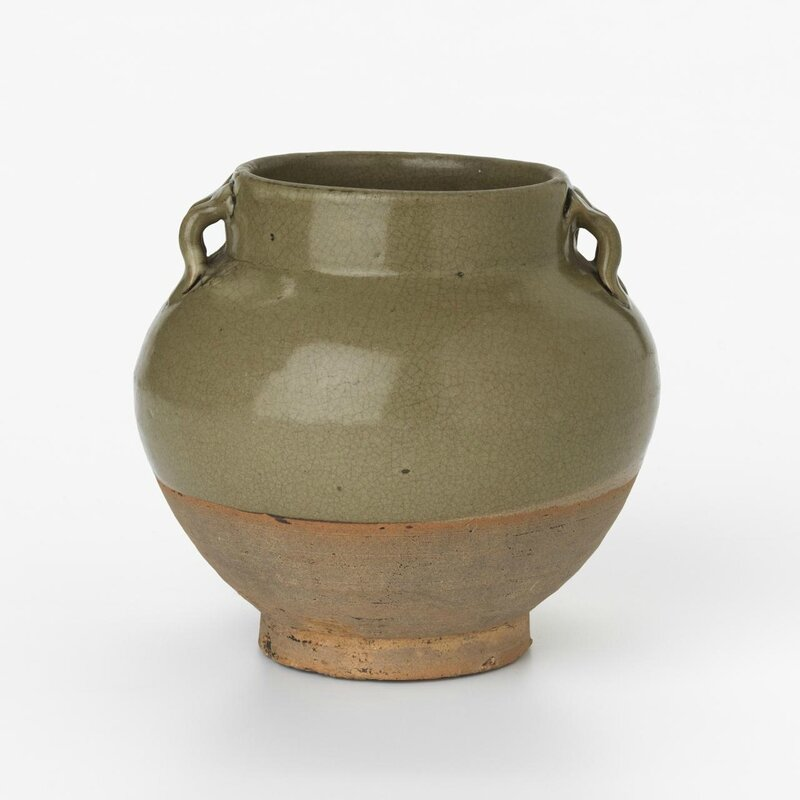 Jar, Song dynasty, 960 CE- 1279, stoneware, pigment