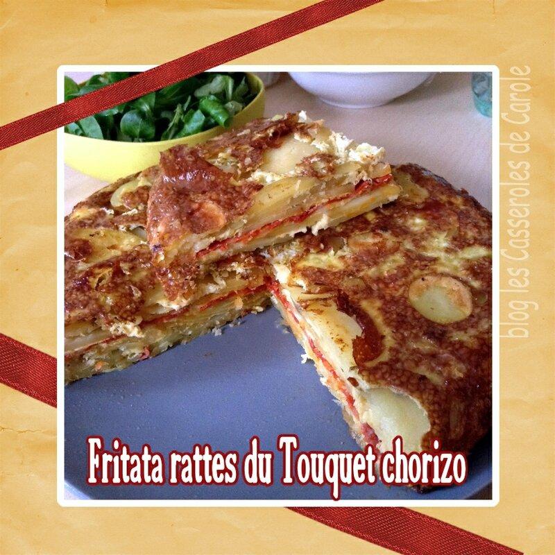 Fritata ratte et chorizo (SCRAP)