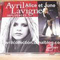 CD Avril Lavigne Influences (2007)