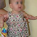 Si vous regardez bien, vous reconnaitrez peut être la robe froncée !
