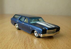 Chevrolet chevelle SS wagon de 1970 -Hotwheels- 01