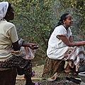 cérémonial du café à Aregash lodge