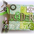 Mini album carré Kader (couverture)