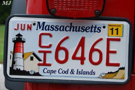 Plaque Massachusetts