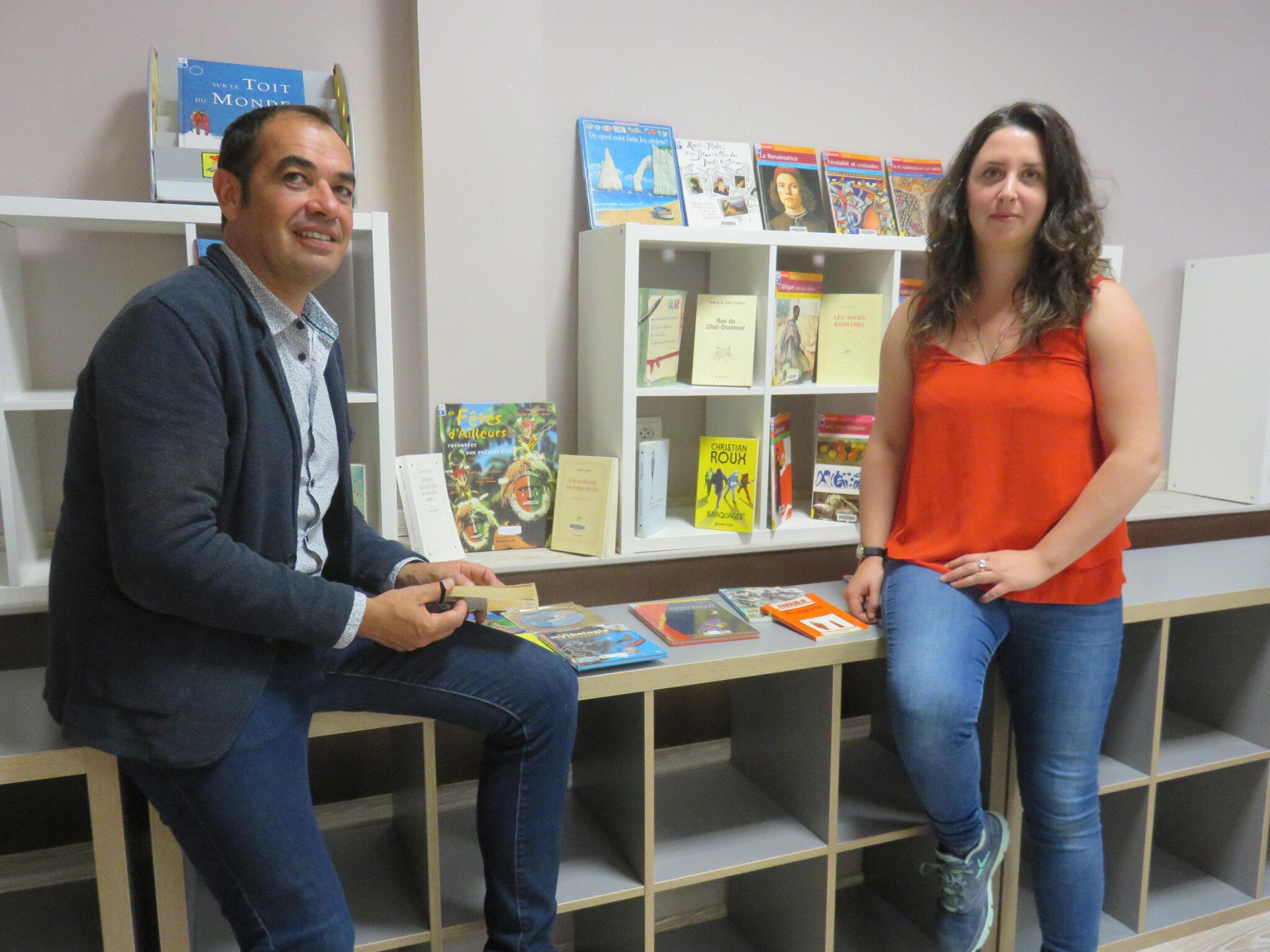 Agrandissement pour la librairie solidaire des Mureaux