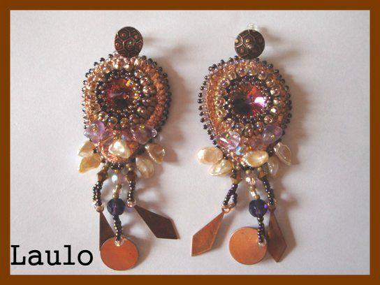 volcano earrings