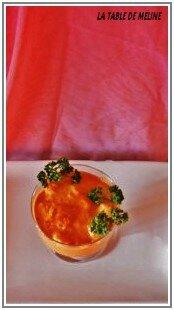 St Jacques sauce corail 2