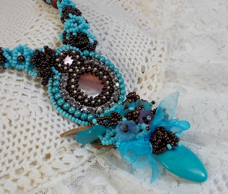Collier Turquoise 3-1
