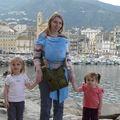 Mes Canailles et moi devant le Vieux Port de Bastia