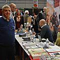 Bernard Chaupitre, toujours là pour représenter le Foyer culturel de Moulins-lès-Metz