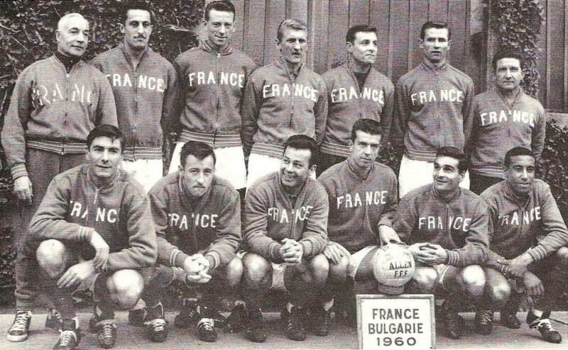 1960 Livre France vs Bulgarie 11 déc R