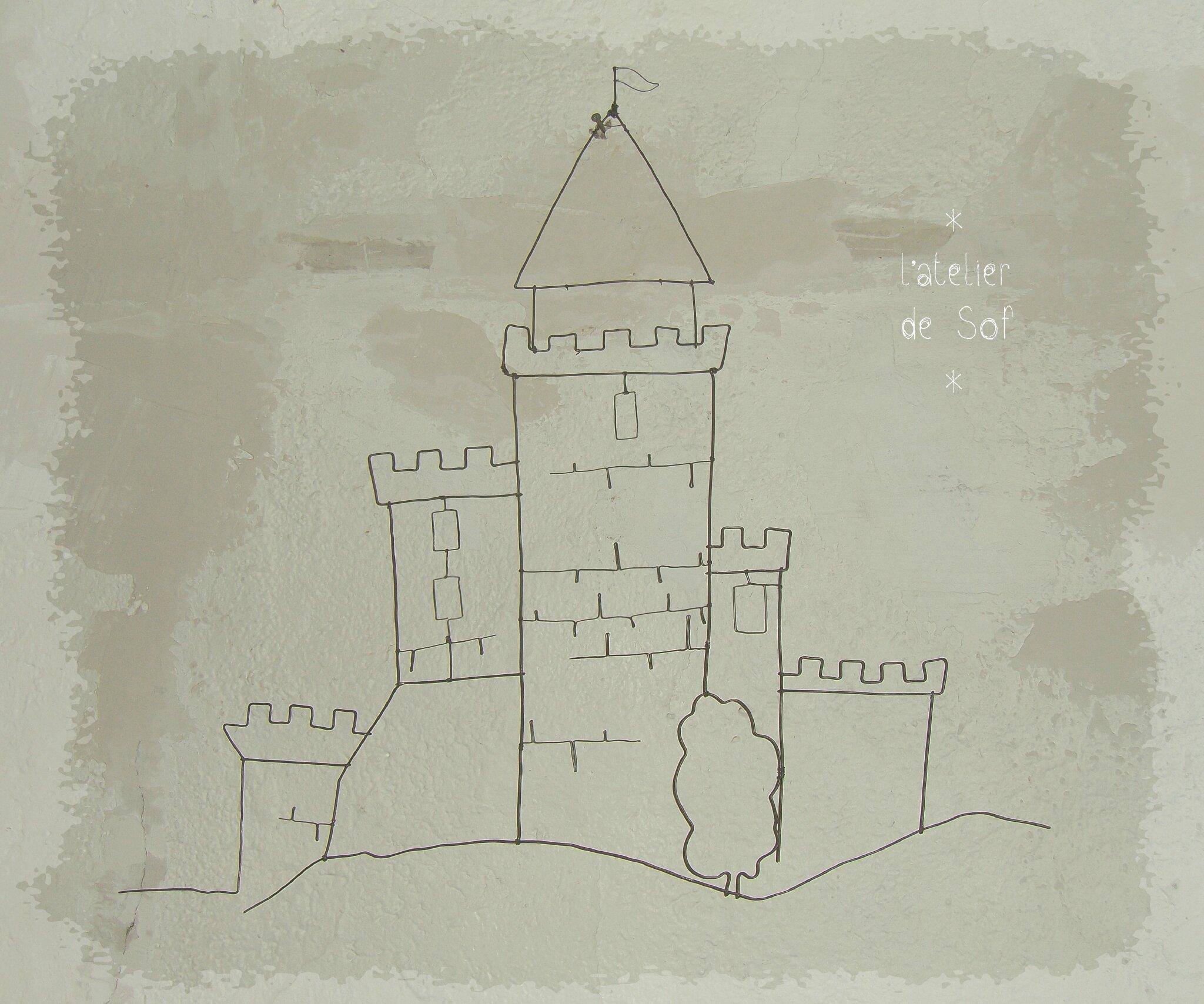 Château fort fil de fer