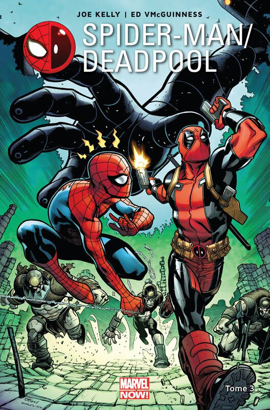 marvel now spiderman deadpool 03 l'araignée gipsy