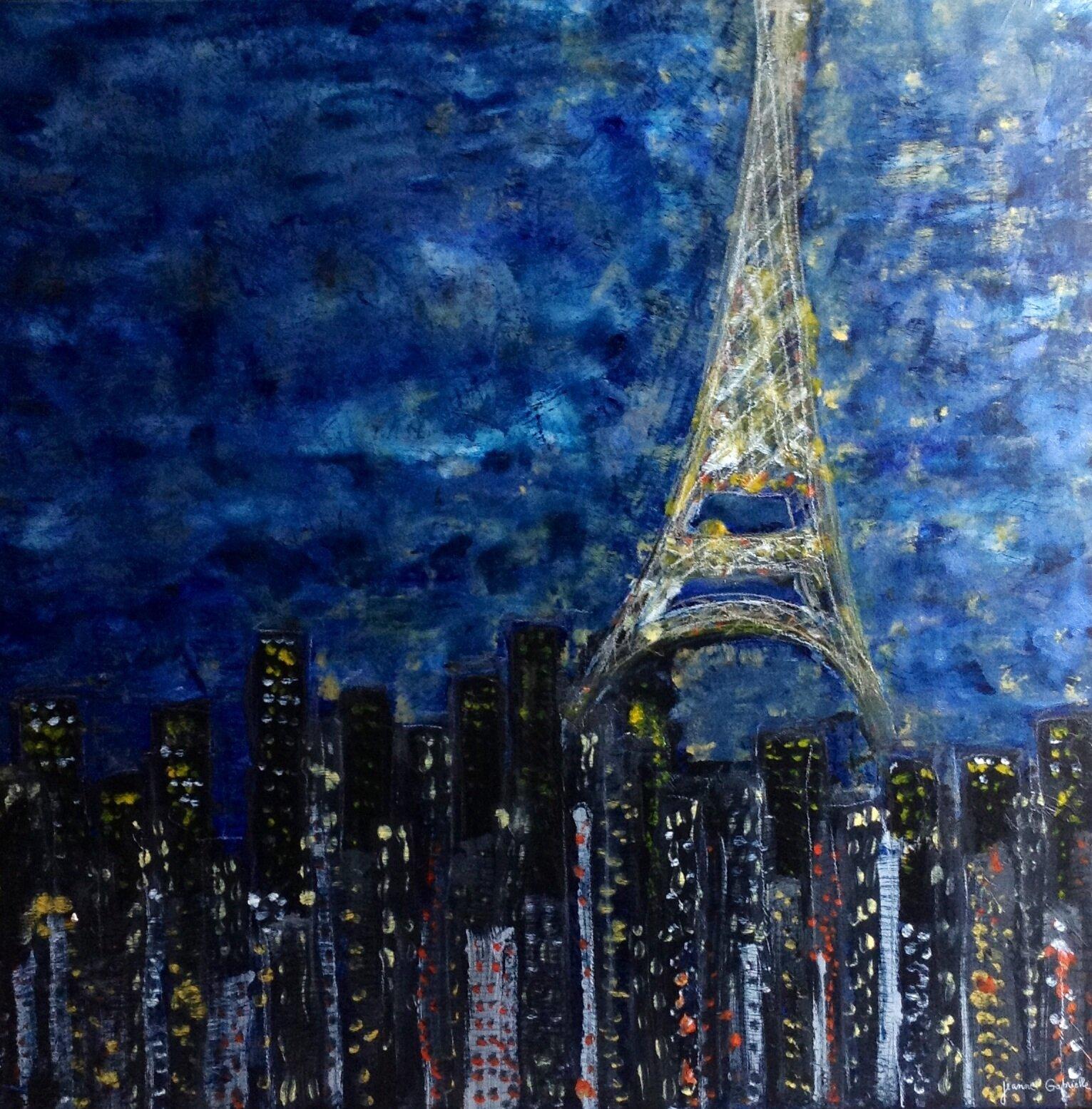 Paris Tourre Eiffel - 100X100