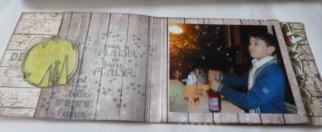 mini album Noël pages décalées (4)