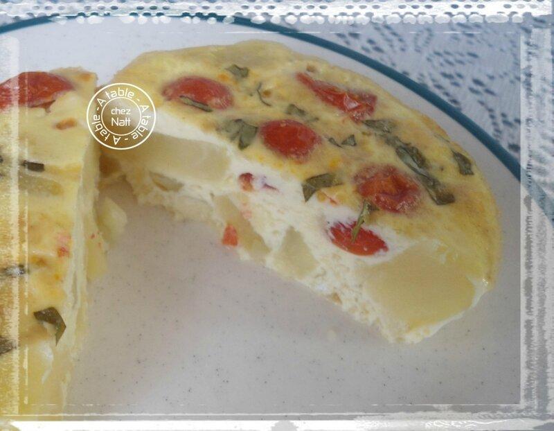 quiche sans pâte aux tomates cerises 2
