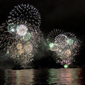 Feu d'artifice grandiose sur le bosphore