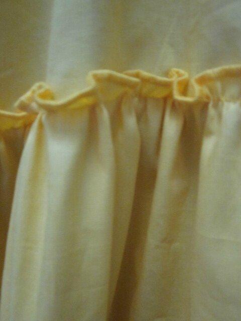 Jupon CLEMENTINE en coton jaune soleil (6)