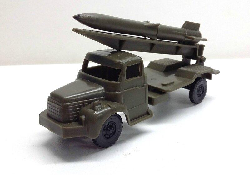 GLR lance missile