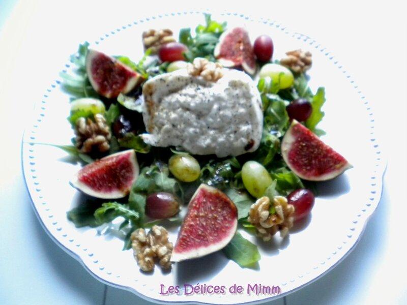 Burrata aux saveurs d'automne (figues, raisins, noix…) 4