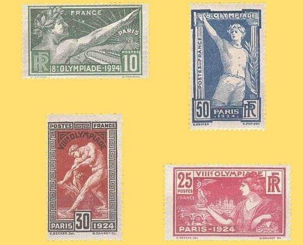Timbre Paris 1924 bis