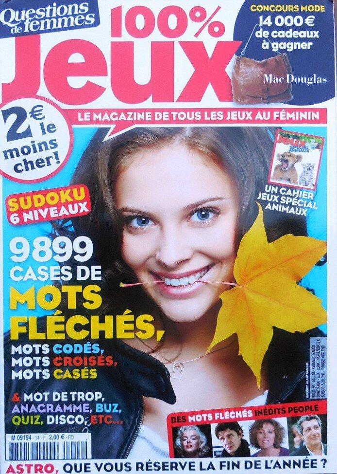 Questions de femmes (fr) 2012
