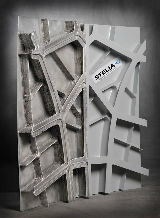 Des panneaux de fuselage renforcés par fabrication additive Waam