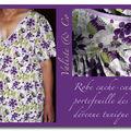 La robe cache-cœur portefeuille des ipfm #1, devenue tunique pour la mémé des lutins